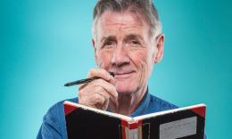 Michael Palin: 'Squeezing 10 years into a book is like being a sculptor'