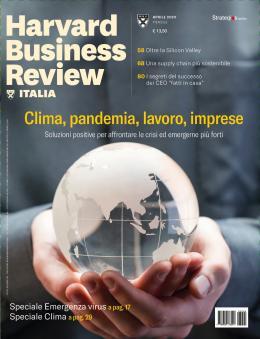 Clima, pandemia, lavoro, imprese