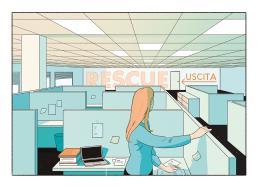 Il nuovo impiego non è soddisfacente: meglio resistere o limitare i danni?