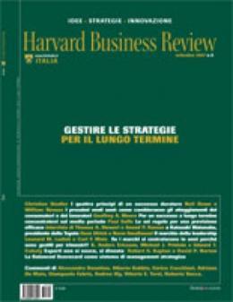Gestire le strategie per il lungo termine (Settembre 2007)