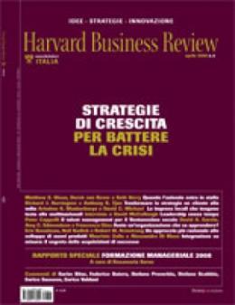 Strategie di crescita per battere la crsi (Aprile 2008)