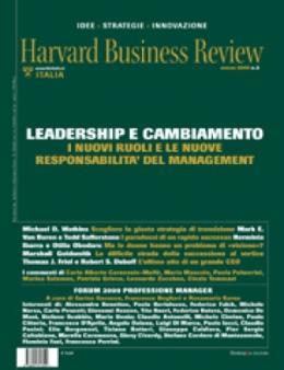 Leadership e cambiamento  (Marzo 2009)