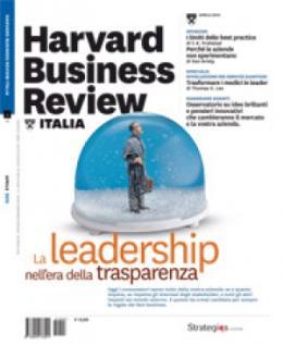 La leadership nell'era della trasparenza (Aprile 2010)