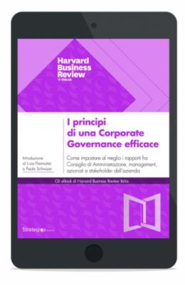 I principi di una Corporate Governance efficace