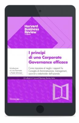 I principi di una Corporate Governance efficace