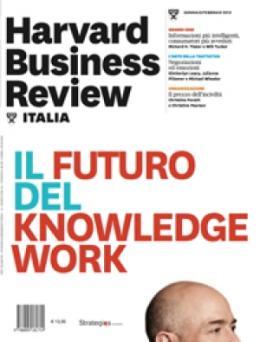 Il futuro del knowledge-work (Gennaio/Febbraio 2013)
