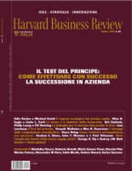 Il test del Principe: come effettuare con successo la successione in azienda (Ottobre 2007)