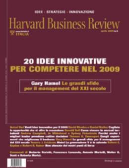 20 idee innovative per competere nel 2009 (Aprile 2009)