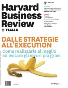 dalle strategie all'execution (Marzo 2015)